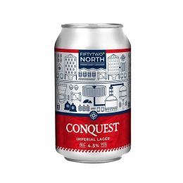 Conquest Imperial Lager 12x 330ml Cans