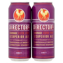 Courage Director Traditionally Brewed Ale 24x 500ml