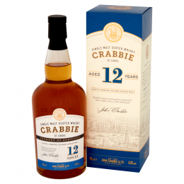 Crabbie 12 Year Whisky 70cl