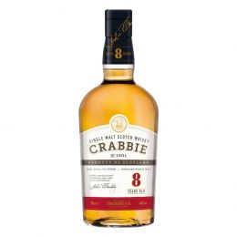 Crabbie 8 Year Whisky 70cl