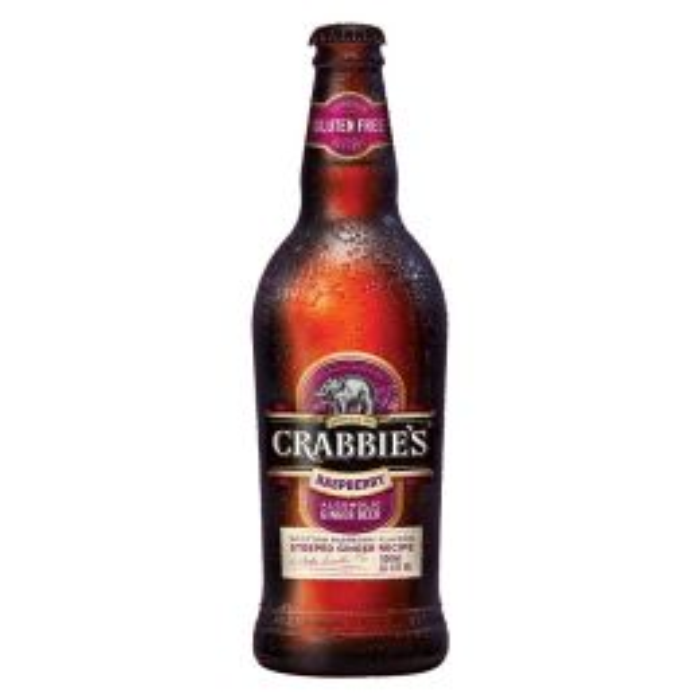 Crabbies Raspberry Ginger Beer 8x 500ml