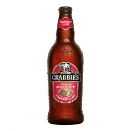 Crabbies Strawberry & Lime Ginger Beer 12x 500ml