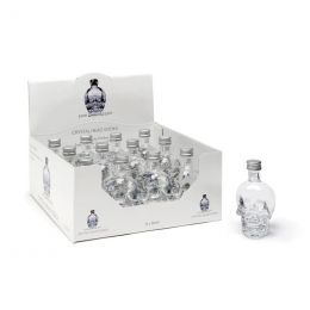 Crystal Head Skull Vodka 12x 5cl Miniature Pack