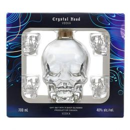 Crystal Head Skull Vodka 70cl Gift Set
