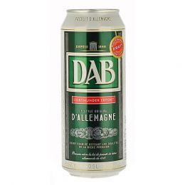 Dab - German Lager Beer - 5x4x 500ml Can - 5% ABV