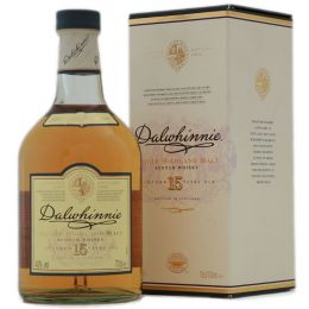 Dalwhinnie 15 yo - Single Highland Malt Scotch Whisky - 70cl