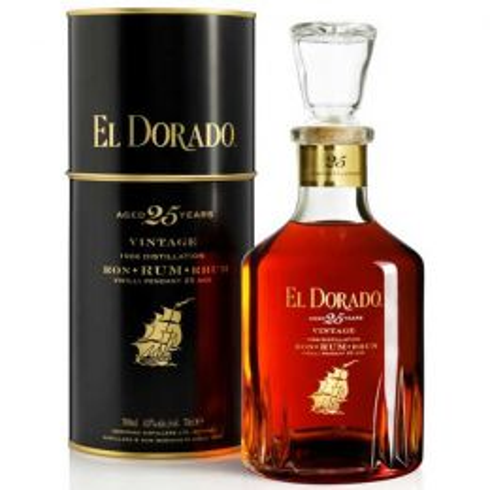 El Dorado 25 Year 1986 Rum 70cl