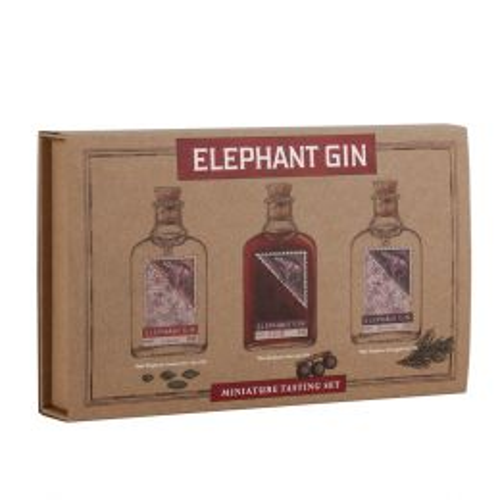 Elephant Gin Tasting 3x 5cl Miniature Pack