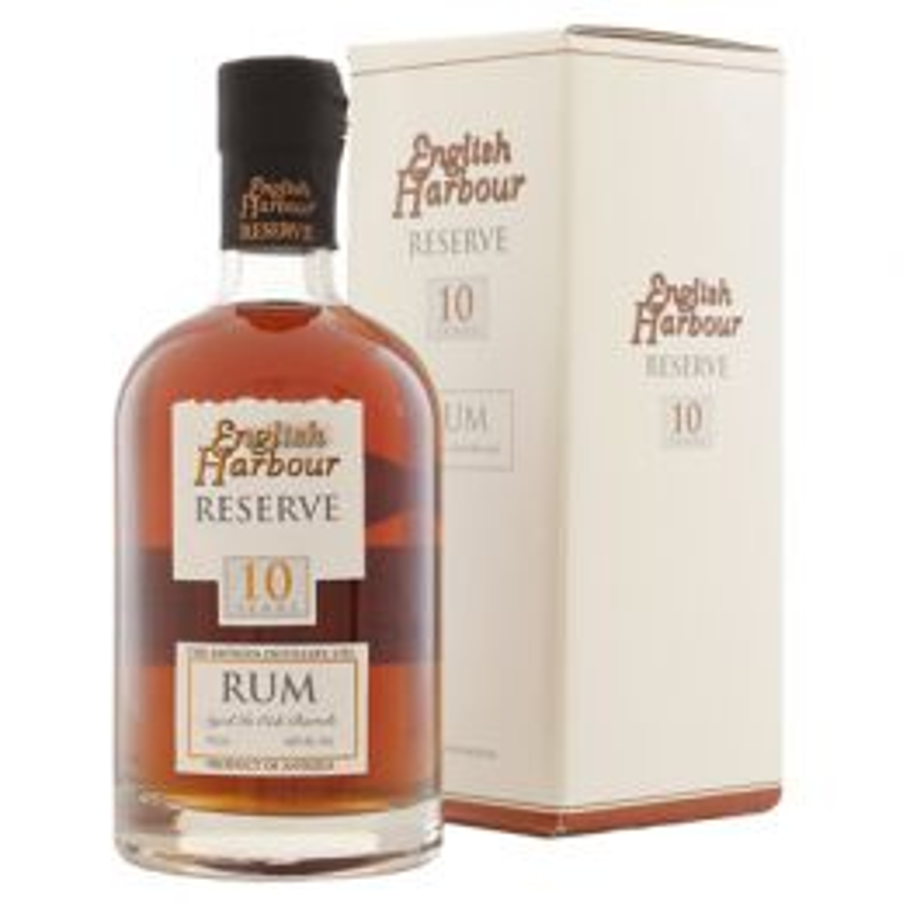 English Harbour 10 yo Reserve Antigua Premium Blended Aged Dark Rum 70cl