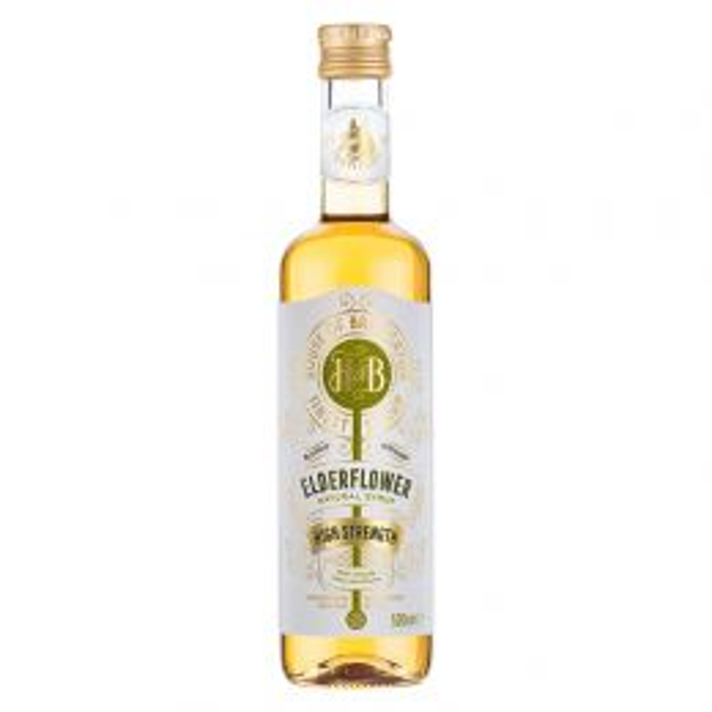 Fentimans House of Broughton Elderflower Syrup 500ml