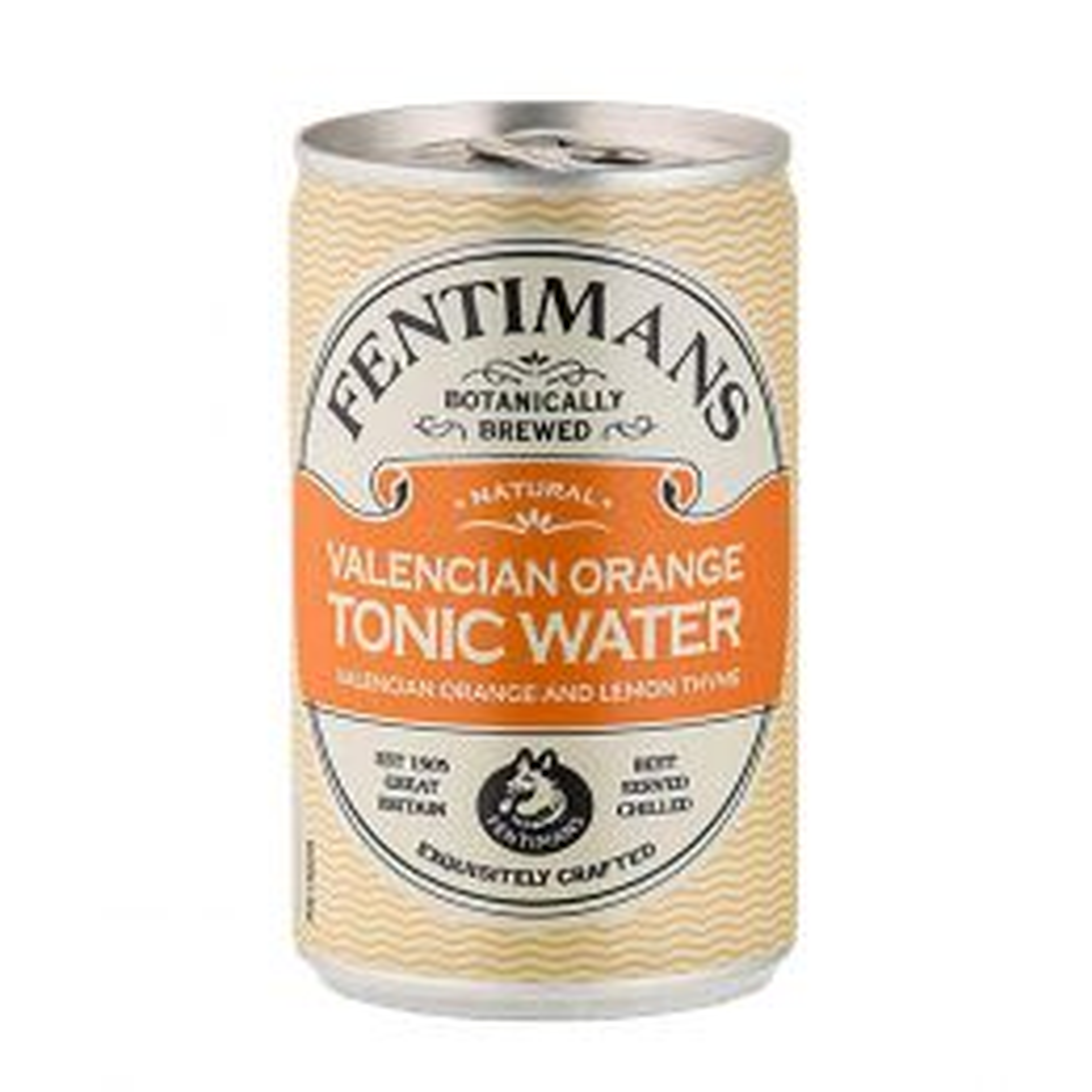 Fentimans Valencian Orange Tonic Water 150ml Can