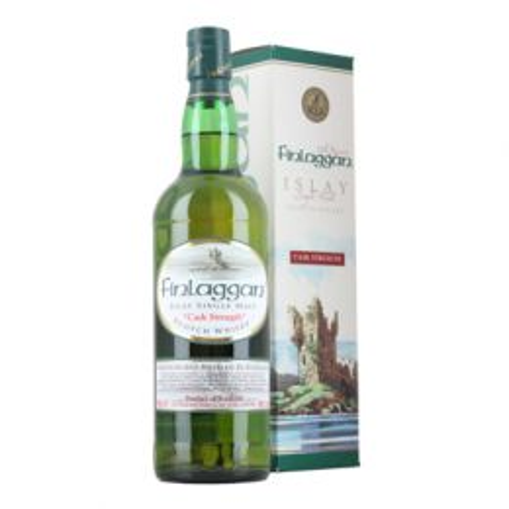 Finlaggan Cask Strength Irish Single Malt Whiskey 70cl 58% ABV