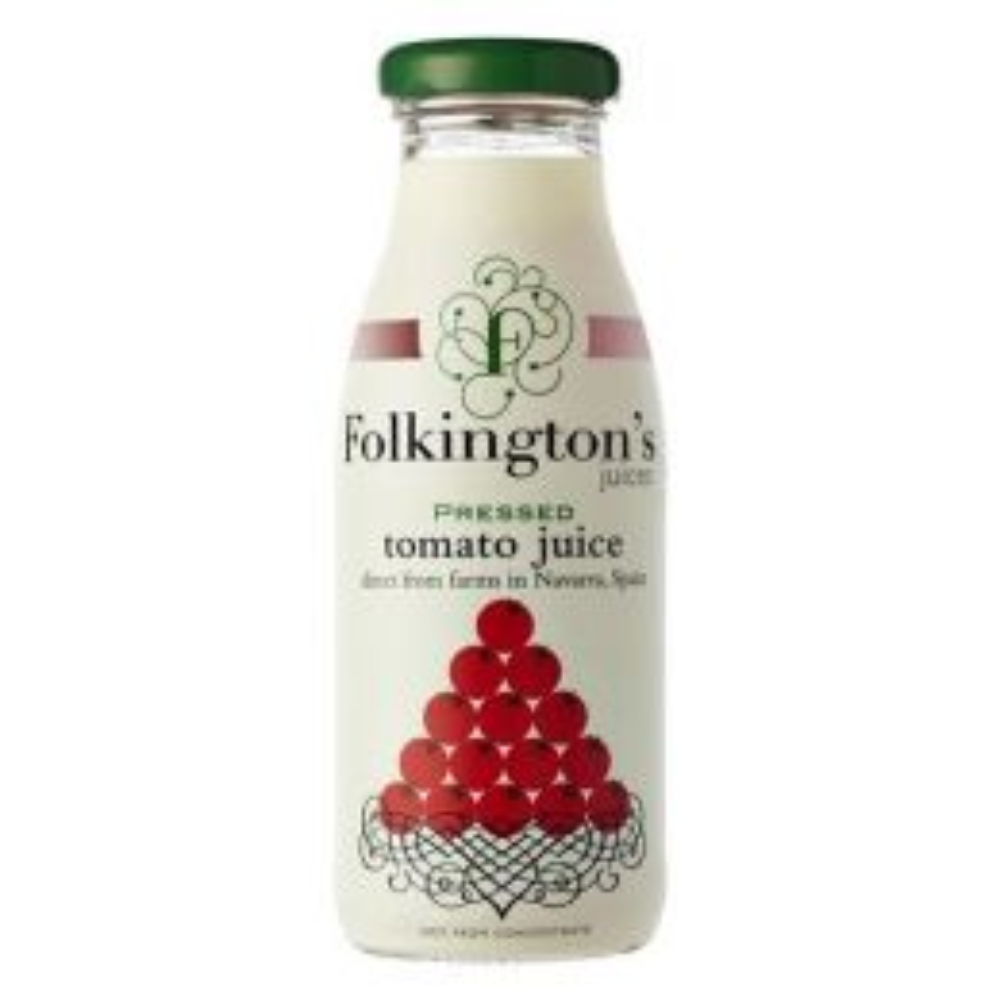 Folkington's Tomato Juice 12x 250ml