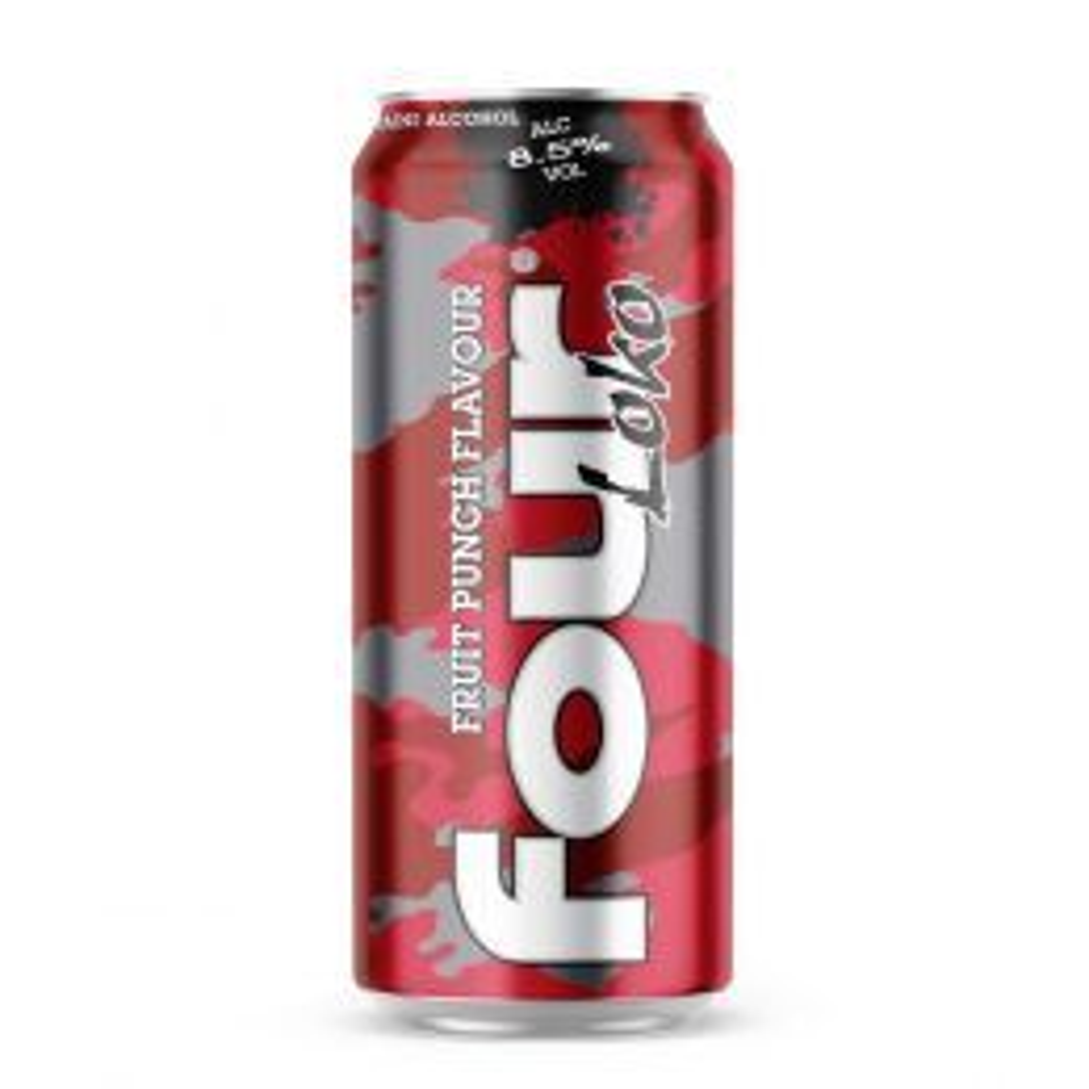 Four Loco Fruit Punch 440ml