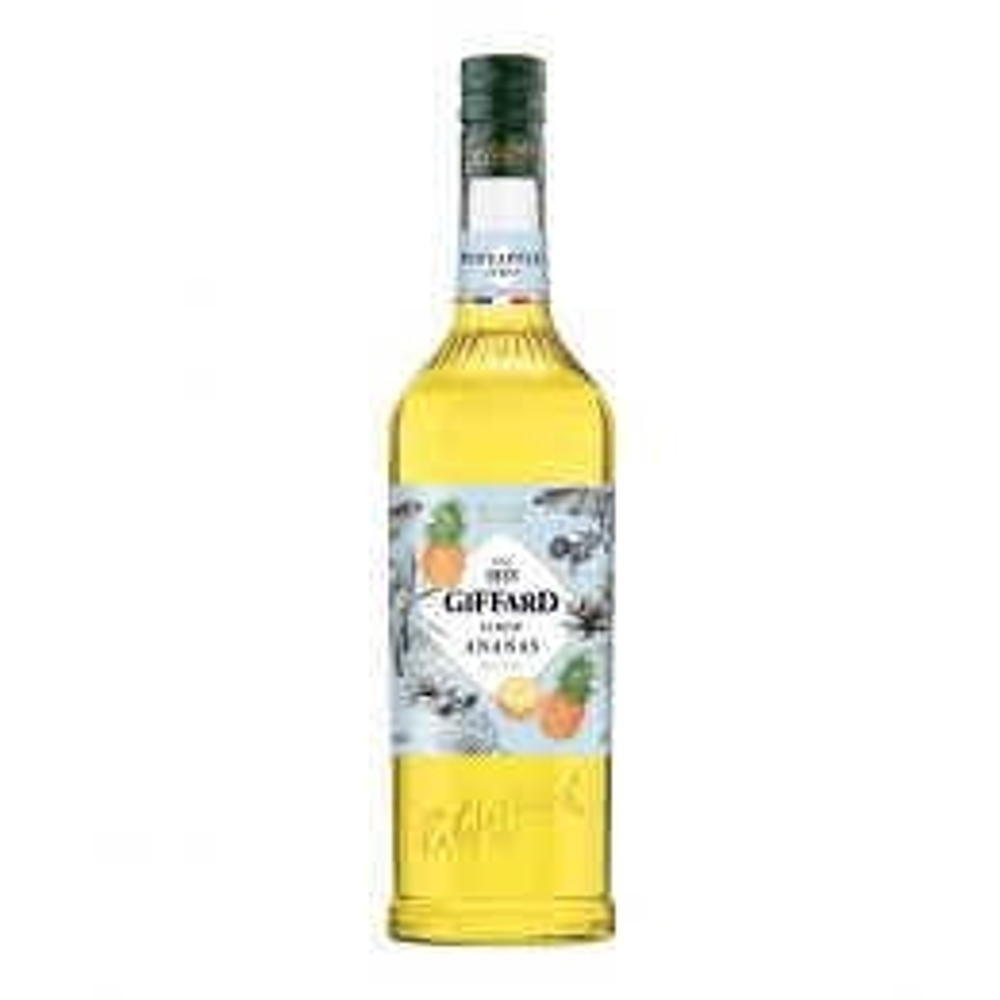 Giffard Pineapple Syrup 1Ltr