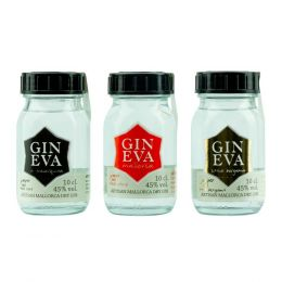 GIN EVA Flight Tasting Box 3x 10cl Pack