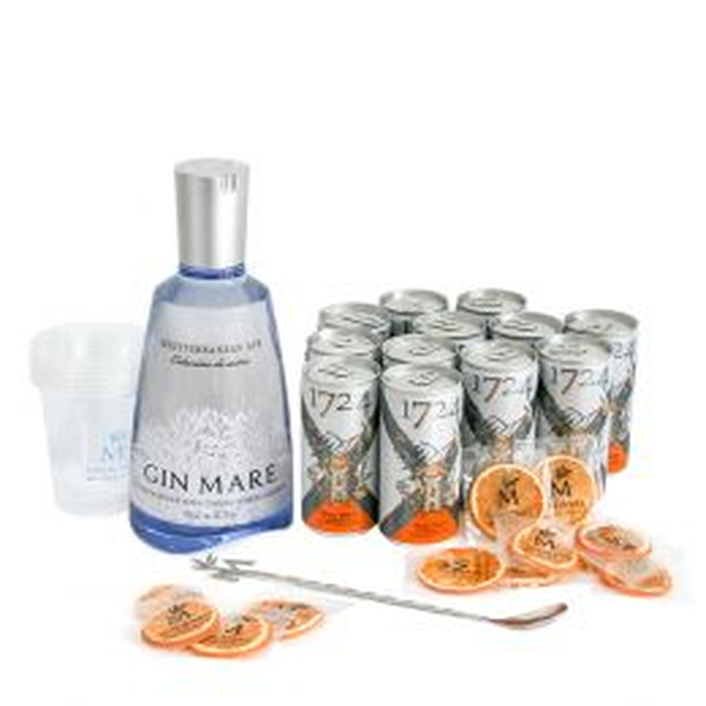 Gin Mare 70cl Home Bar Set