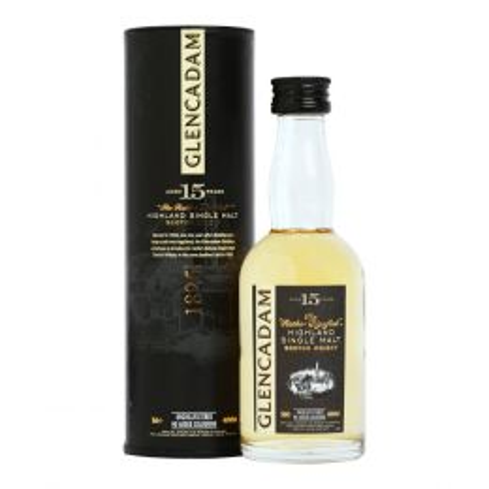 Glencadam 15 Year Whisky 5cl Miniature