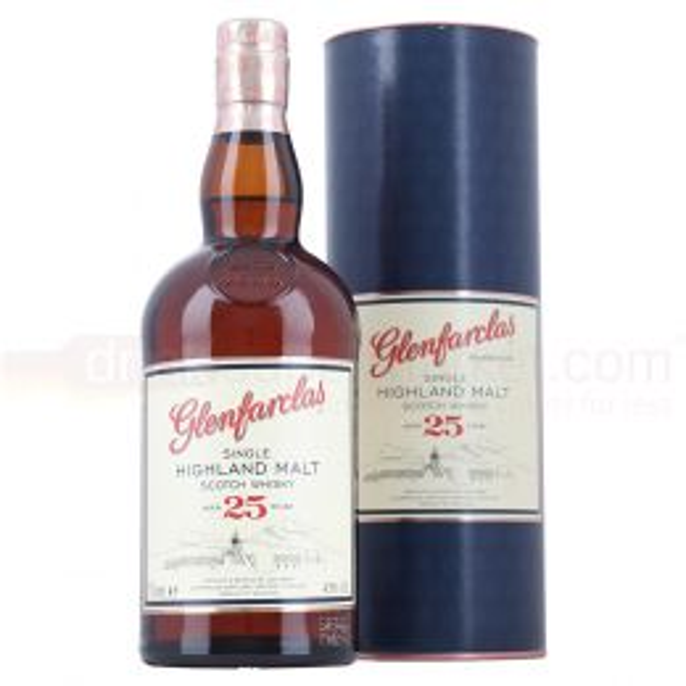 Glenfarclas 25 yo Speyside Single Malt Scotch Whisky 70cl 43%