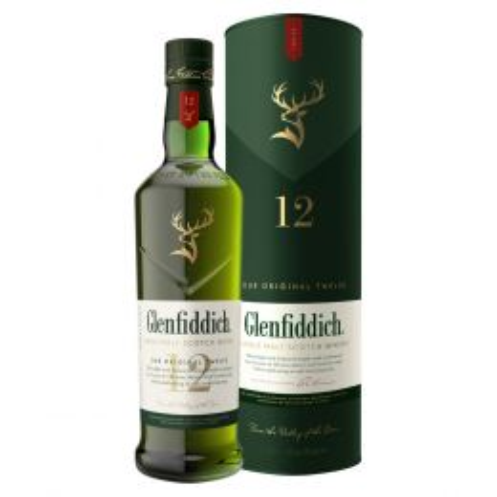 Glenfiddich 12 yo Highland Single Malt Scotch Whisky 70cl