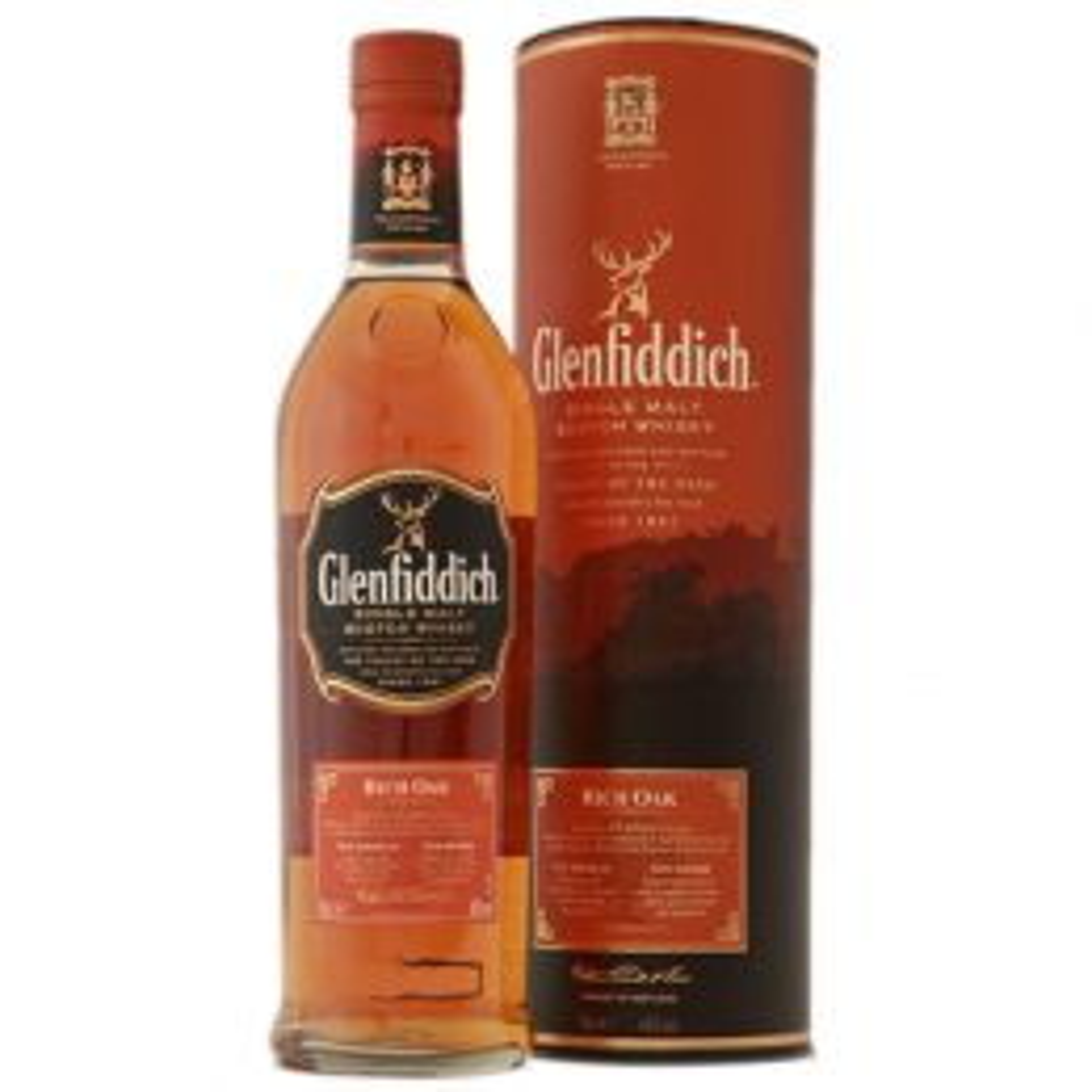 Glenfiddich 14 Year Rich Oak Whisky 70cl