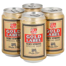 Gold Label Strong Beer 4x 330ml