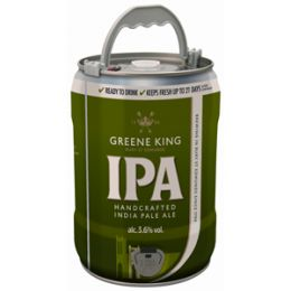 Greene King IPA 5 Ltr Mini Keg