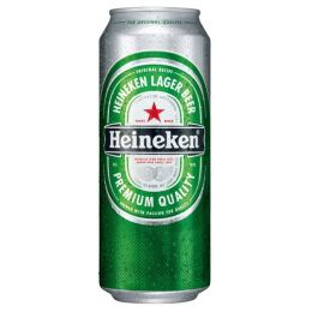 Heineken Dutch Premium Lager Beer 6x4x 500ml Can