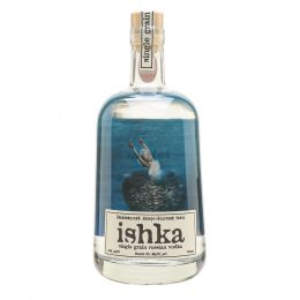 Ishka Single Grain Vodka 70cl