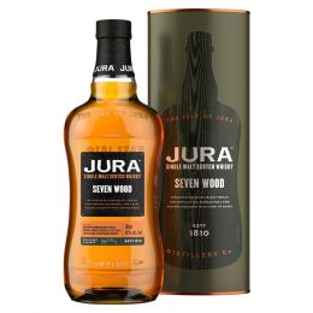 Isle Of Jura Seven Wood Whisky 70cl