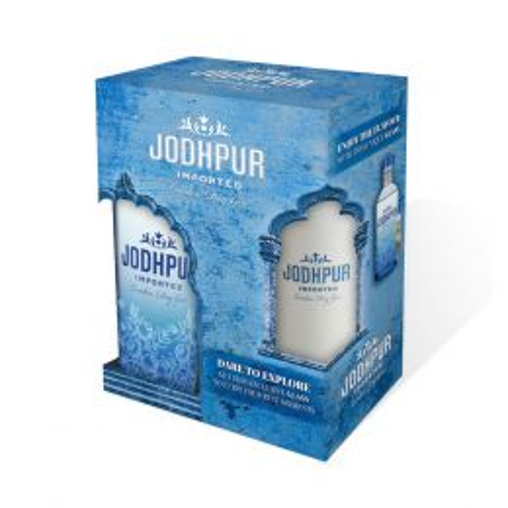Jodhpur London Dry Gin 70cl Gift Pack