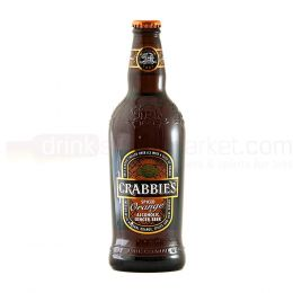 Crabbies Spiced Orange - Limited Edition Cider - NRB 500ml Glass Bottle