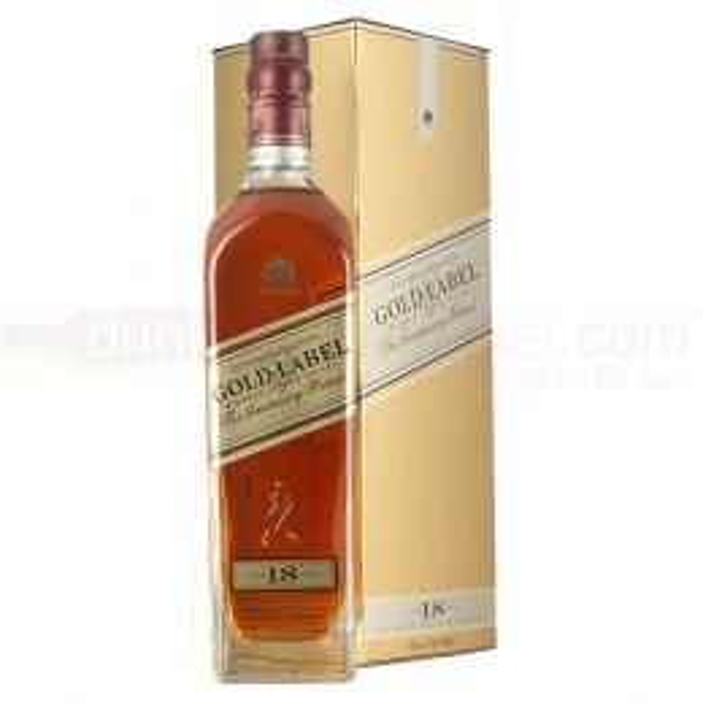 Johnnie Walker Gold Label 18 yo Blended Scotch Whisky