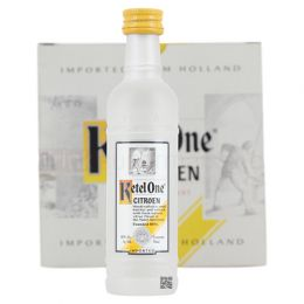 Ketel One Citron Lemon Vodka 12x 5cl Miniature Pack