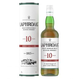 Laphroaig 10 Year Sherry Oak Whisky 70cl