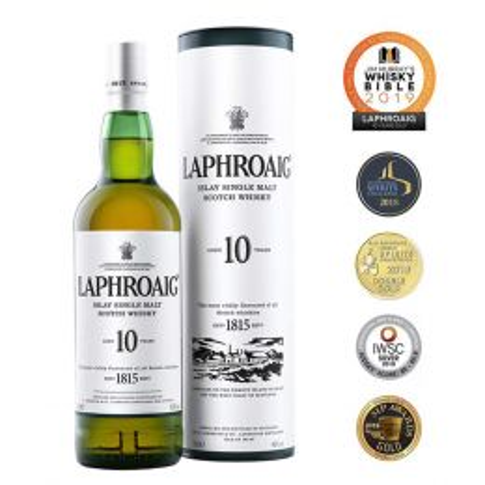 Laphroaig 10 Year Whisky 70cl
