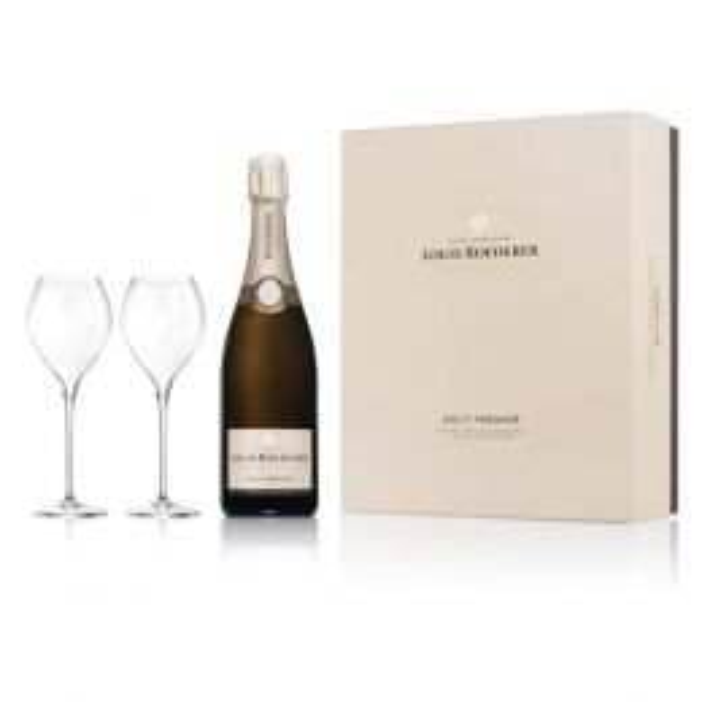 Louis Roederer Premier Brut Champagne 75cl Gift Set