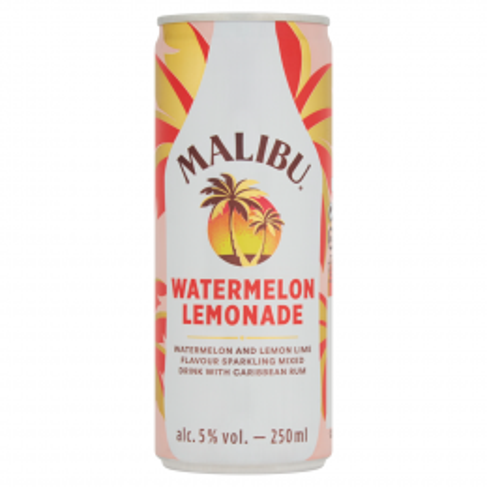 Malibu Watermelon Lemonade 250ml