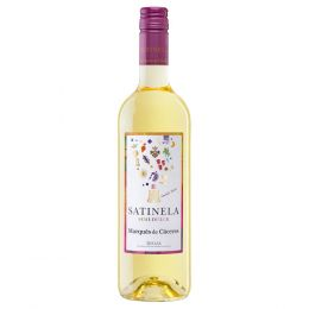 Marques de Caceres Satinela Semi Dulce White Wine 75cl