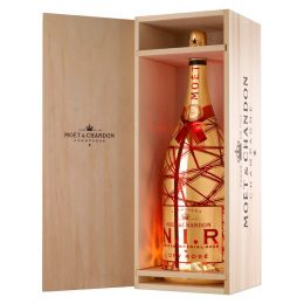 Moet & Chandon N.I.R Nectar Imperial Rose Dry Champagne 6Ltr Methuselah