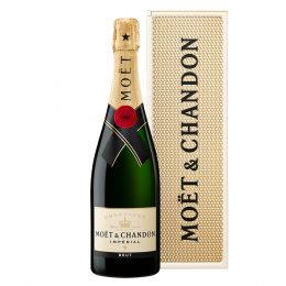 Moet & Chandon Imperial Brut Champagne 75cl Personality Metal Gift Box