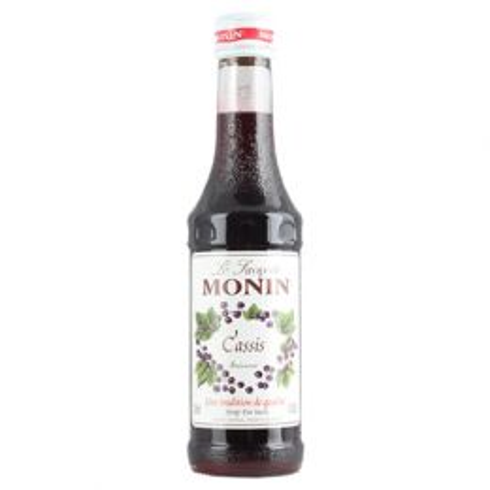 Monin Blackcurrant Cassis Syrup 25cl
