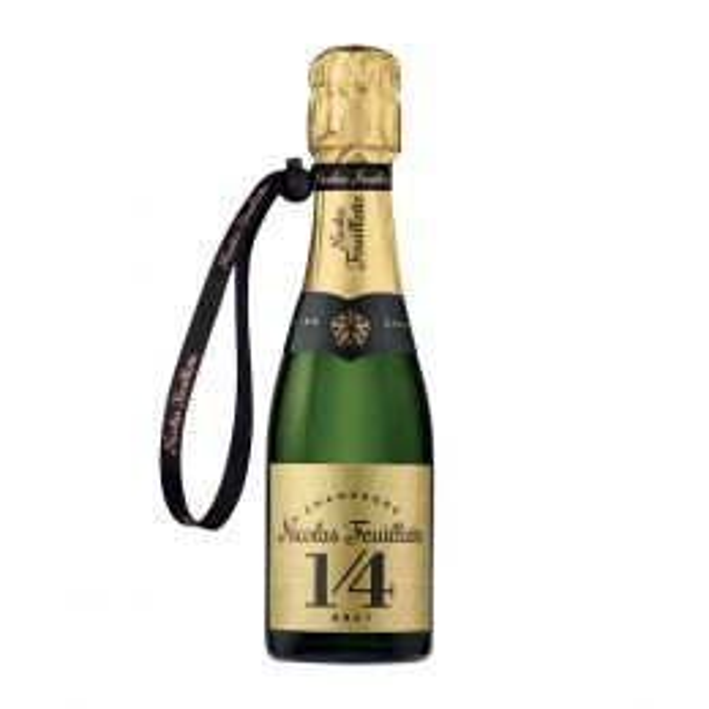Nicolas Feuillatte One Fo(u)r Brut NV Champagne 200ml