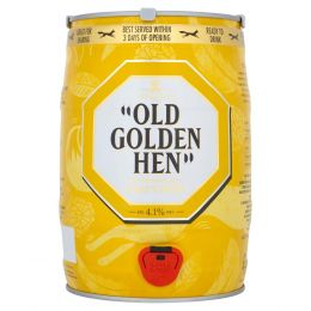 Old Golden Hen Keg English Ale 5 Ltr Mini Keg