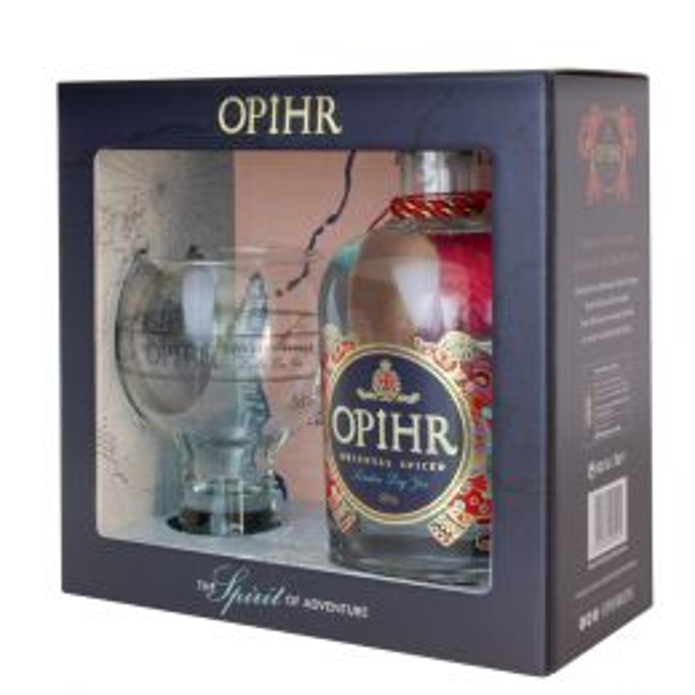 Opihr Oriental Spiced Gin 70cl Gift Pack