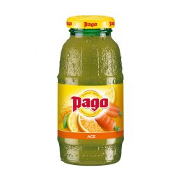 Pago ACE Orange Carrot and Lemon Juice 12x 200ml