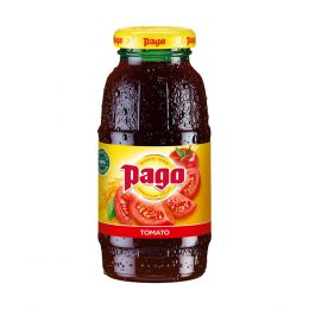 Pago Tomato Juice 12x 200ml