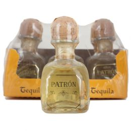 Patron Anejo Aged Tequila 6x5cl Miniature Pack