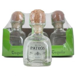 Patron Silver Blanco Tequila 6x 5cl Miniature Pack