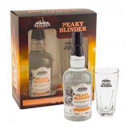 Peaky Blinder Spiced Dry Gin 70cl Gift Pack